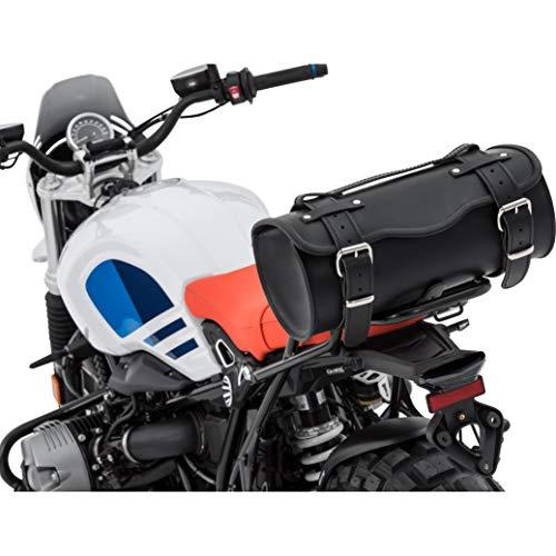 Stoverinck Hecktasche Motorrad Motorradtasche Leder Gepäckrolle/Hecktasche Festus 11 Liter, Unisex, Chopper/Cruiser, Ganzjährig, schwarz