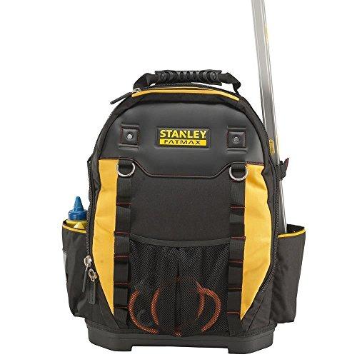 Stanley Werkzeugrucksack (36 x 46 x 27 cm, mit Taschen für Werkzeug, Zubehör, Laptop, Netzfach,...