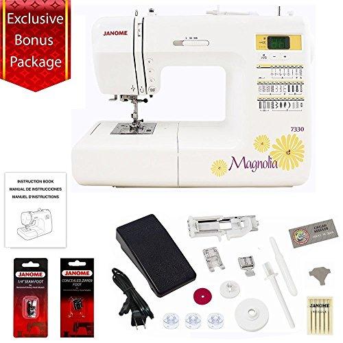 Janome 30 Stitch Computerized Magnolia 7330 Sewing Machine...