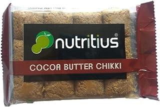 Nutritius Cocoa Butter Chikki, 125g (10 Packs) - Family Pack
