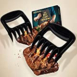 HELEMAN Gifts for Men Meat Claws - Gadgets for Men BBQ Accessories Pulled Shredder Pork Claws, BBQ Cooking Utensils Birthday Gifts for Men, Secret Santa Gifts BBQ Tools for Cook/BBQ Fanatic (Black)