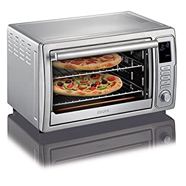 KRUPS OK710D51 Stainless Steel Deluxe Oven, 6 slices, with 8 preset functions and Adjustable cooking time, Silver