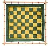 Kreul 810265 - Javana Spannrahmen, maximale Spannfläche ca. 90 x 90 cm, zum flexiblen Aufspannen...