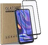 Cbus Wireless - 2 Protectores de Pantalla de Cristal Templado y dureza 9H para Motorola Moto G 5G Plus