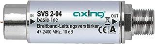Axing SVS 2 04 Satelliten Leitungsverstärker Inline Breitband (10dB, 47   2200 MHz)