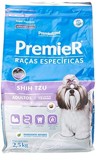 Ração Premier Shih Tzu Raças Específicas para Cães Adultos - 2,5kg