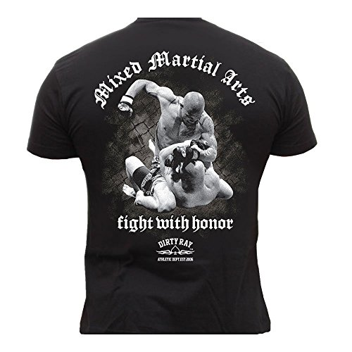 Dirty Ray MMA Fighter t-Shirt Homme DT4 (S)