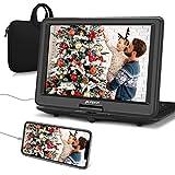 Pumpkin lettore dvd portatile grande schermo da 16 pollici per bambini, borsa dotata,supporta HDMI/...