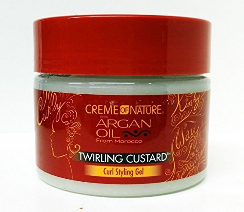 Creme of Nature Twirling Custard Curl Defining Jelly, 12 Ounce by Creme of Nature