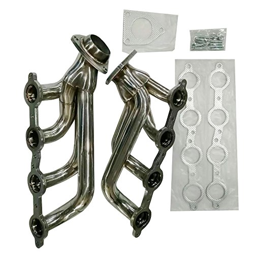 MILLION PARTS Stainless Steel Header Exhaust System Kit WH-0021