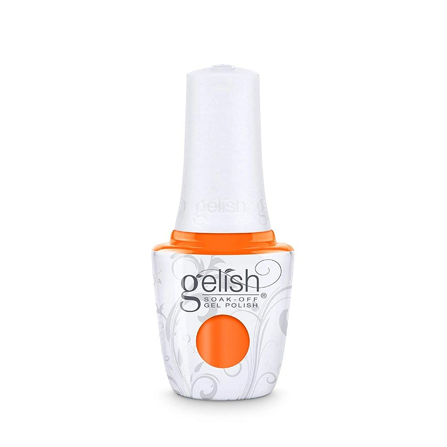 用語集旧正月有望Harmony Gelish - Make a Splash 2018 Collection - You've Got Tan-gerine Lines - 15 mL / 0.5 Fl. Oz.
