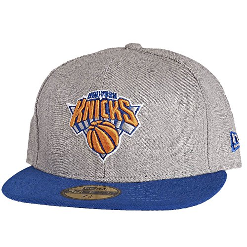 New Era NBA NEW YORK KNICKS Heather Pop 59FIFTY Cap