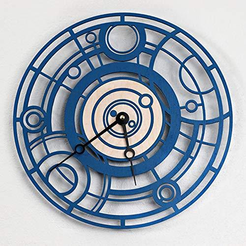 Reloj De Pared Reloj De Pared De Pared Creativo Moderno, Doctor Who Reloj De Pared Decoración De Pared Reloj De Pared Máquina Máquina De Tiempo