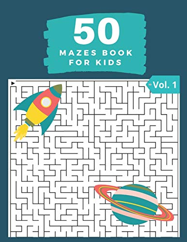 50 Mazes Book for Kids Vol. 1