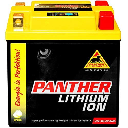 Panther YTX14L-BS Lithium Motorradbatterie 12V 14Ah Harley Davidson