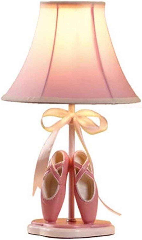 VISTANIA Kinder Schlafzimmer Tischlampe E27 Prinzessin Mdchen Schlafzimmer Nachttischlampe Schne Tanzschuhe Lichter Warme Geburtstagsgeschenk Licht