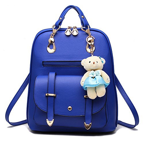 BAG WIZARD Women Small Backpack Purse Cute Quilted Vegan Leather Mini Back Pack Purses for Teen Girls