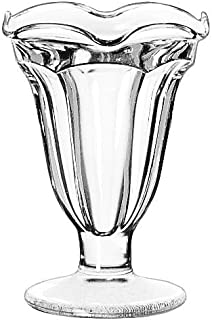 5.25 Ounce Glass Sundae Dish Tulip - 24 per case