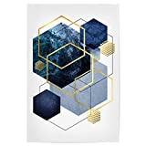 artboxONE Poster 30x20 cm Abstrakt Hexagonal Bliss - Bild