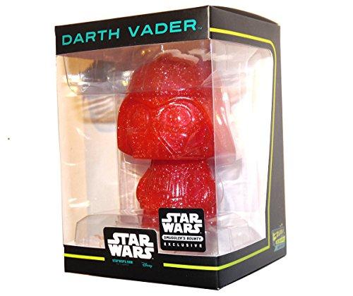 "Smugglers Bounty November 2016 ""Rogue One"" Hikari Minis Red Sparkle Variant Darth Vader Figurine"