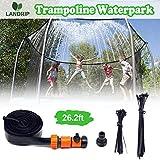 Landrip Trampoline Sprinklers for Kids, Outdoor Water Play Sprinklers,...