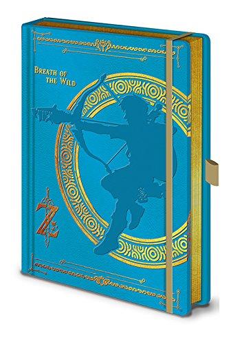 Legend Of Zelda Breath Prem Ntbk SR72428