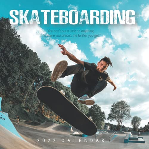 Compare Textbook Prices for Skateboarding 2022 Calendar: Beautiful Calendar with Large Grid for Note - To do list, Gorgeous 7x7'' Small Mini Calendar, Non-Glossy Paper  ISBN 9798452898849 by Day Publishing, Just Another