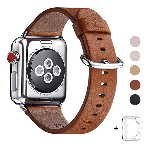 WFEAGL Apple Watch Leather Strap