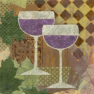 Design Design Napkin-Beverage Vintage Collage