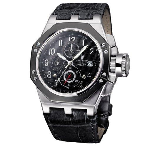 Astboerg Herren Armbanduhr AT3062SS