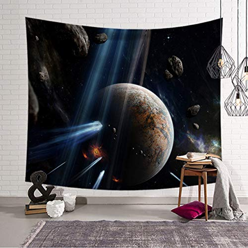 xkjymx Sternennacht Tapisserie Strand Tagesdecken Schlafzimmer Dekor Wandbehang Polyestergewebe für Tischdecke Decke
