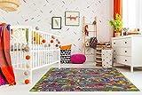 misento Kinderteppich Straßenteppich Spielunterlage Kinderzimmer Schadstoff geprüft 200 x 200