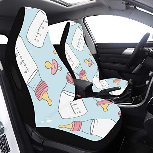 Why Choose Seat Cover Replacement Baby Milk Bottle Delicate Car Seat Covers for Men 2 Pcs Universal ...