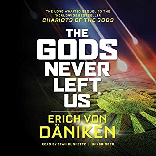 The Gods Never Left Us audiobook cover art