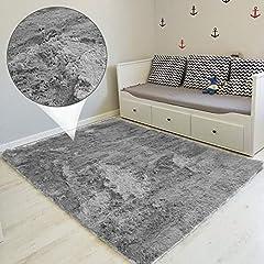 wohnzimmerteppich Langflor - Teppiche für