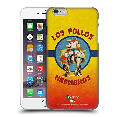 Head Case Designs Licenza Ufficiale Breaking Bad Los Pollos Hermanos Grunge Iconico Cover Dura per Parte Posteriore Compatibile con Apple iPhone 6 Plus/iPhone 6s Plus
