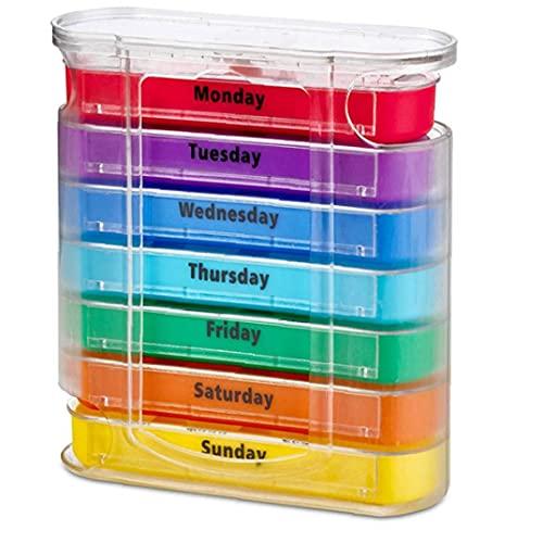 Dozen van de pil Organizer Portable 28 Grid Calcium tabletten vitamine Dispensing container, s, Scientific opslag brengt je warme liefde