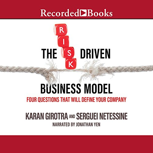 The Risk-Driven Business Model audiobook cover art