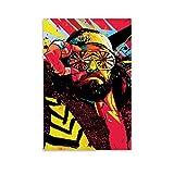 NBEI Macho Man Randy Savage Kunstwerk auf Leinwand, Poster