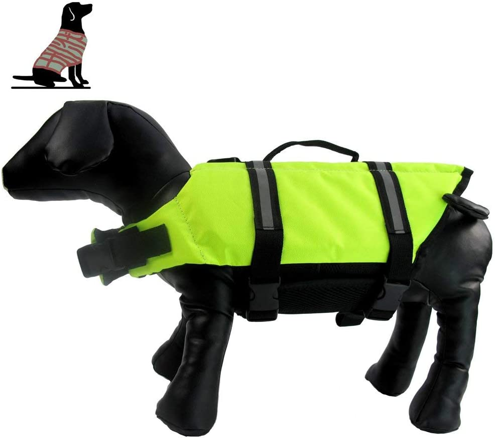 XiYou excellence Dog Life Jacket Doggy Flotation Device Lifesave Inventory cleanup selling sale Reflective