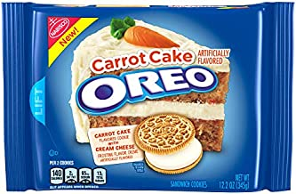 OREO Carrot Cake Cookie, 12.2oz. Package