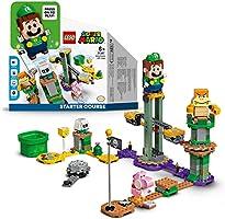 LEGO 71387 Super Mario Avonturen met Luigi Starter Bouwset, Interactief Speelgoed voor Kinderen vanaf 6 Jaar en Ouder