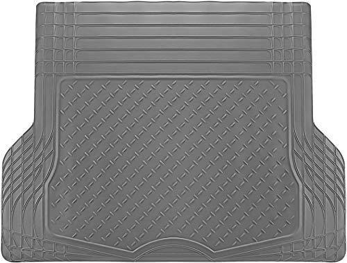 Motorup America All-Weather Cargo Liner/Trunk Mat - Universal Water-Proof Auto Floor Mat - All-Season Car Mats for Automotive Use - Car, SUV, Truck, Van, Pickup - Gray