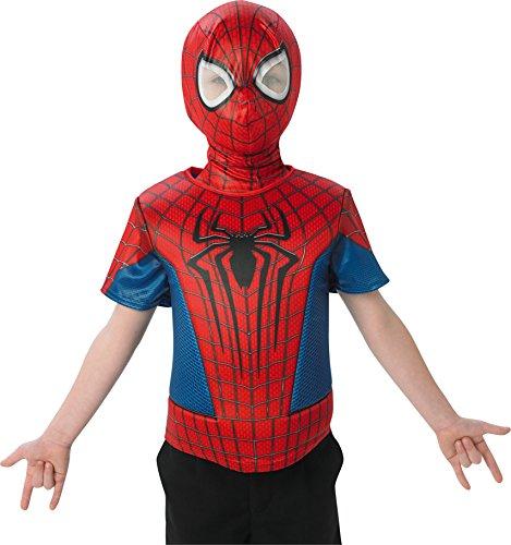 Rubie's-déguisement officiel - Rubie's- Kit enfant plastron 3D et cagoule- AC5618