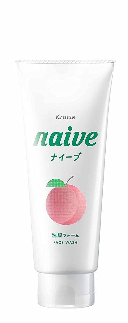年金牽引無声でナイーブ 洗顔フォーム (桃の葉エキス配合) 130g