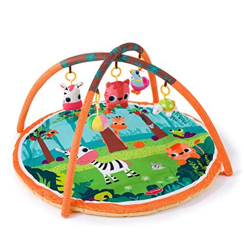 Gong Alfombrilla de Juego para bebés, Ccolchoneta de Juegos para bebés, colchoneta de Fitness para bebés, Marco de Ejercicios, colchoneta para Gatear para educación temprana