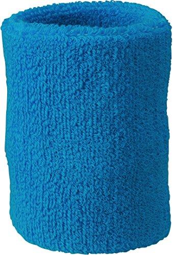 Myrtle Beach Wristband Schweißband aus weichem Frottee MB043, Farbe:Turquoise;Größe:One Size