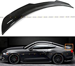 Cuztom Tuning Fit for 2015-2019 Ford Mustang S550 GT H Style Carbon Fiber Rear Trunk Spoiler Wing