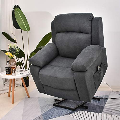 Power Lift Recliner Chair with Massage and Heat,...