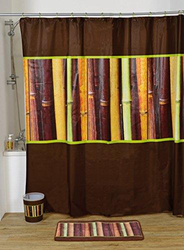 EVIDECO Atelier Loft PEVA Bad Bedruckt Vorhang für die Dusche, Mehrfarbig, 71L X 71W